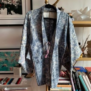 Authentic Japanese Haori/Kimono Style Jacket Robe